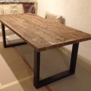 tafel ijzer 220x100 d