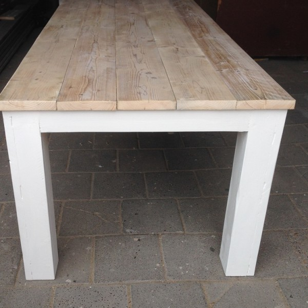 tafel stoer landelijk 220x100x