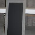krijtmagneetbord 50x100 grey wash