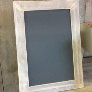 krijtmagneetbord 50x70 grijs white wash
