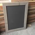 krijtmagneetbord grijs,grey wash 60x80