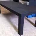 tafel stoer zwart 260x100