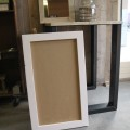 prikbord 60x100 lijst rose white