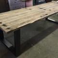 tafel wagondelen staal  280x90x78
