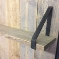 plankendragers met steigerhouten plank